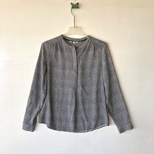 Boden long sleeve blouse sz 8